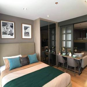 For SaleCondoSukhumvit, Asoke, Thonglor : ✅ Sale Park 24, near BTS, size 30 sqm, complete with furniture and appliances ✅