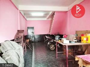 For SaleShophousePattaya, Bangsaen, Chonburi : 2 storey commercial building for sale, Sriracha, Chonburi, good location, suitable for trading