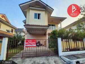 For SaleHouseRayong : House for sale Hat Phayun Village Green Ville Ban Chang Rayong location on Phayun Road - Ban Chang