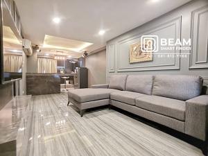 ขายคอนโดพระราม 9 เพชรบุรีตัดใหม่ : 👍SM002: ห้องหรู สยามคอนโด ห้องสวย ตกแต่งใหม่พร้อมเฟอร์นิเจอร์ครบ เข้าอยู่ได้ทันที/พระราม 9/Central Rama9