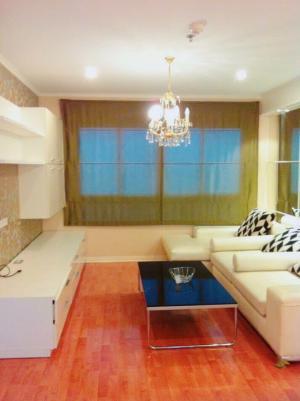For RentCondoRamkhamhaeng, Hua Mak : Lumpini Ville Ramkhamhaeng 44, two bedrooms, 64 sqm, 15th floor, building A 18,000 baht 064-959-8900