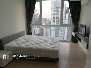 เช่าคอนโดนานา : Condo for Rent!! ห้องแต่งสวย ชั้นสูง เฟอร์ครบ เช่าคอนโดใกล้ BTS นานา 15 Sukhumvit Residences @26,000 บาท/เดือน