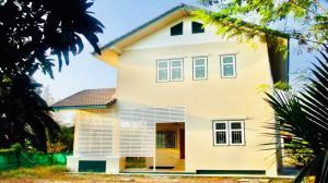 ขายบ้านมหาชัย สมุทรสาคร : บ้านเดี่ยว สร้างใหม่ 2 ชั้น บนเนื้อที่ 147 ตร.ว. พร้อมอยู่ ซ.เทศบาล 2/12 กระทุ่มแบน สมุทรสาคร