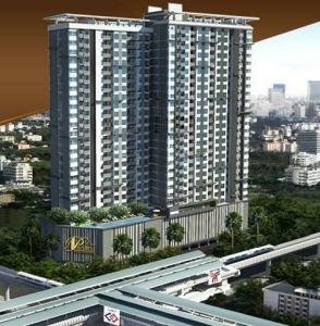 For RentCondoThaphra, Wutthakat : The President Sathorn Ratchaphruek, ready to move in, 30 sqm, prices start at 9500 baht.