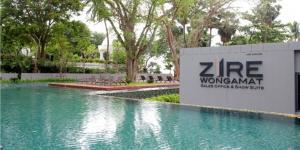 ขายคอนโดพัทยา บางแสน ชลบุรี : ขายด่วนพร้อมผู้เช่า 2 ห้องนอน Zire วงศ์อมาตย์ 5.85 ล้าน