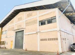 เช่าโรงงานนครปฐม พุทธมณฑล ศาลายา : ปล่อยเช่าโกดัง พร้อมออฟฟิต ติดพุทธมณฑลสาย 4