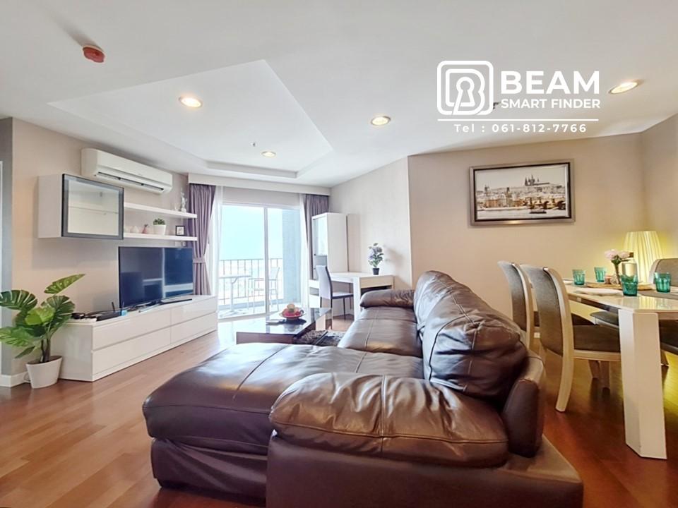 ขายคอนโดพระราม 9 เพชรบุรีตัดใหม่ : BL004: Belle Grand Condominium : ตกแต่งใหม่ ฟอร์ริเจอร์ครบครัน พร้อมเข้าอยู่ / พระราม9 /เซนทรันพระราม9