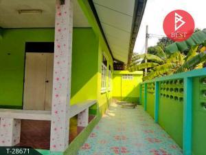 For SaleHousePattaya, Bangsaen, Chonburi : Single storey house for sale, area 76.0 square meters, Chonburi