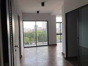 For SaleCondoBangna, Lasalle, Bearing : Selling very cheap !! Empty room !! 46 sq m, 2 bedrooms, G Haus Condo Sukhumvit 109 (Santikham 4) 7th floor, BTS Bearing.