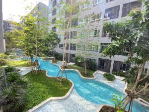 For SaleCondoKasetsart, Ratchayothin : Beautiful position, pool view, 1 bedroom, 31 sqm.