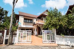 For SaleHouseVipawadee, Don Mueang, Lak Si : Single house 80 sq m, Thai village, Soi Songprapa 30, large area, cheap
