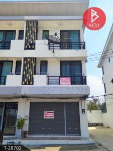 For SaleShophousePattaya, Bangsaen, Chonburi : 3-storey commercial building for sale, Dee Village, Complex D Town 2, Si Racha, Chonburi