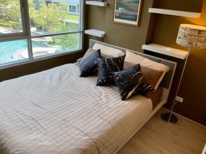เช่าคอนโดอ่อนนุช อุดมสุข : คอนโดให้เช่า เอลลิโอ เดลเรย์  ซอย สุขุมวิท 64  บางจาก พระโขนง 2 ห้องนอน พร้อมอยู่ ราคาถูก