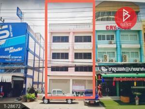 เช่าตึกแถว อาคารพาณิชย์พัทยา บางแสน ชลบุรี : ให้เช่าอาคารพาณิชย์ 2 คูหา บายพาส นาป่า ชลบุรี