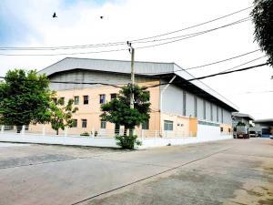 For RentFactorySamrong, Samut Prakan : Factory / warehouse for rent on purple area On Praksa main road, Samut Prakan
