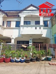 For SaleTownhouseRangsit, Patumtani : Townhouse for sale Baan Fah Rangsit Klong 4 Rangsit-Nakhon Nayok Bueng Yitho, Thanyaburi, Pathum Thani The house is ready. Near the Kanchanaphisek ring