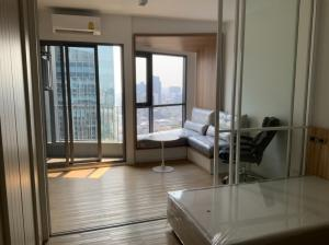 For RentCondoSiam Paragon ,Chulalongkorn,Samyan : Room for rent, Triple Y Residence project, 33 sqm., 32nd floor, best price.