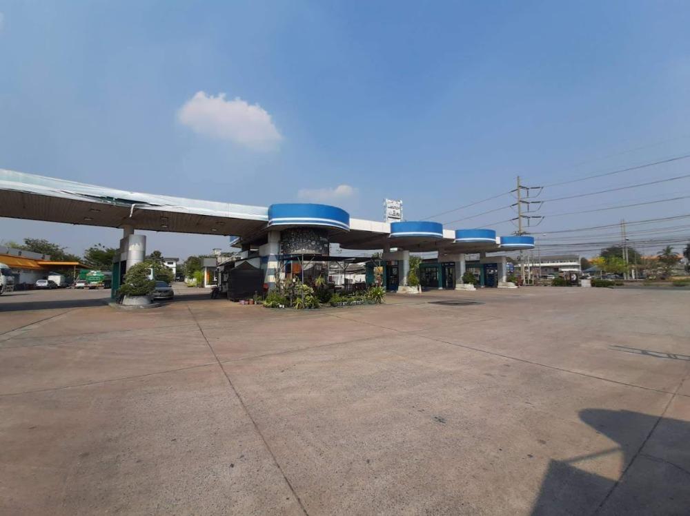 For SaleLandPattaya, Bangsaen, Chonburi : Urgent sale, gas station, area 3 rai over 331 road, Koh Pho intersection, Koh Chan, Chonburi