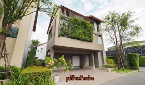 ขายบ้านเลียบทางด่วนรามอินทรา : บ้านเดี่ยว 3 ชั้น Private Nirvana Residence East ใกล้ เซ็นทรัล อีสต์วิลล์ 63.6 ตร.วา 3 ห้องนอน 3 ห้องน้ำ หลังมุม