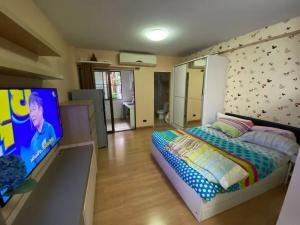 For RentCondoRamkhamhaeng, Hua Mak : ✅ For rent, Supalai City Resort Ramkhamhaeng, size 32 sq m, complete with furniture and appliances ✅
