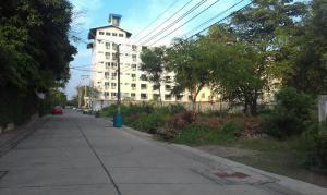For RentLandBangna, Lasalle, Bearing : Land for rent, 247 square meters, Sukhumvit 105 Road (Lasalle) Soi 6.