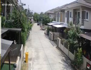 For SaleHouseRama5, Ratchapruek, Bangkruai : House for sale Nicharom Village Soi 2 At the beginning of Soi Ratchapruek Road