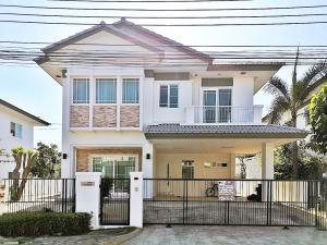 ขายบ้านลาดกระบัง สุวรรณภูมิ : ขายบ้านเดี่ยว 2 ชั้น  มัณฑนา อ่อนนุช - วงแหวน 3 ขนาด 66 ตร.ม. บ้านสวน โทร 0982688955