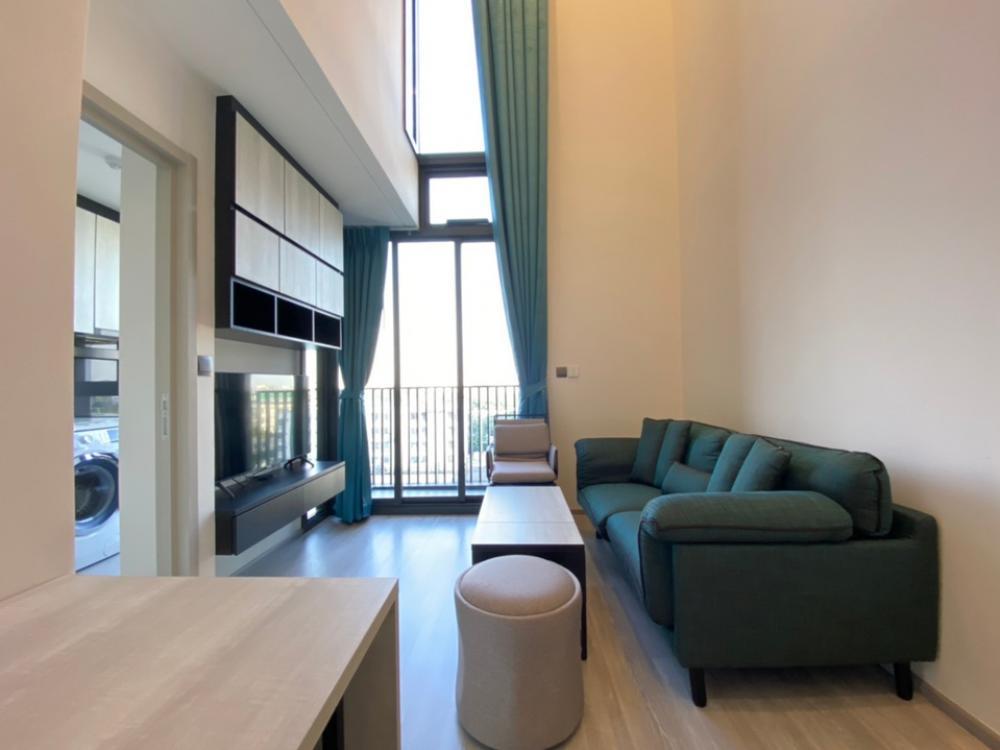 For RentCondoOnnut, Udomsuk : The Line 101 ห้อง Duplex ชั้น5(ส่วนกลาง) ขนาด43ตรม.เครื่องใช้ไฟฟ้าครบ ปล่อยเช่าราคาพิเศษ 20,000