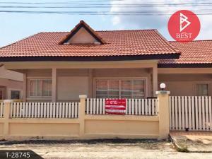 For SaleHousePattaya, Bangsaen, Chonburi : House for sale Green Field Villa 3, Bang Lamung, Chonburi, beautiful location, 150 meters away from Sukhumvit Road.
