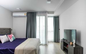 For RentCondoNana, North Nana,Sukhumvit13, Soi Nana : LPA-21-032 *** Urgent rent, Venio Sukhumvit 10 project, studio, 1 bathroom, 7th floor, size 26 sq m, rental price 13,000 baht / month, fully furnished, ready to move in, close to BTS Asoke, MRT Sukhumvit