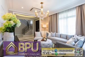 For RentHouseBangna, Lasalle, Bearing : **4 bedrooms Luxury detached house for RENT** Nantawan Bangna K.M 7 close to Mega Bangna