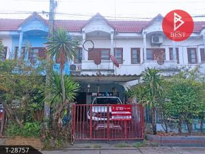 For SaleTownhouseSamrong, Samut Prakan : 2-storey townhouse for sale, Bang Phriang Subdistrict, Bang Bo District, Samut Prakan Province