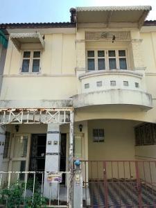 For SaleTownhouseBangbuathong, Sainoi : ✅ 2-storey townhome for sale, Piyawararom Village, Bang Kruai-Sai Noi, size 21 sq m, near MRT ✅