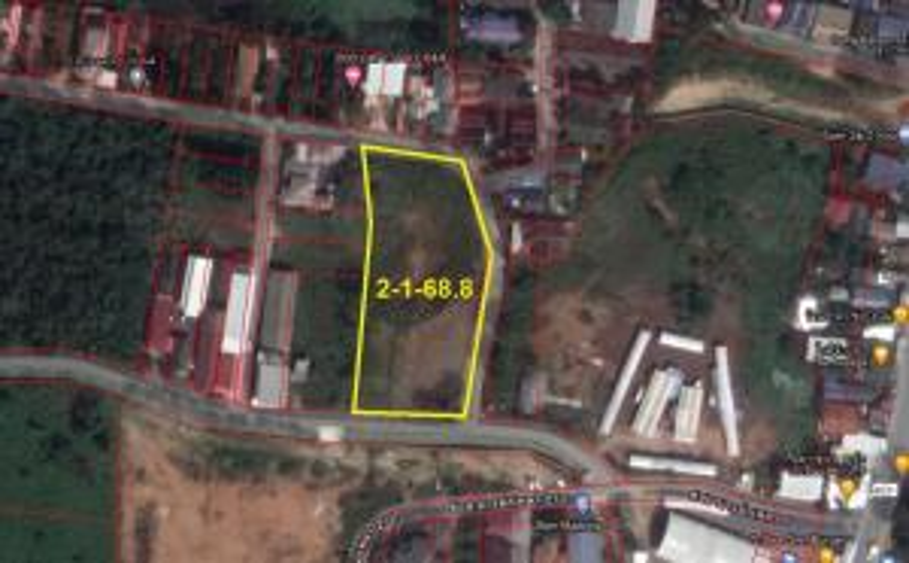 For SaleLandPhuket, Patong : Land for sale 2 rai 1 ngan 68.8 sq m. Near Nai Yang Beach, Phuket