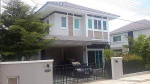 เช่าบ้านเชียงใหม่-เชียงราย : H196KC บ้านให้เช่า หมู่บ้านอรสิริน 6 แยกท่ารั้ว 3ห้องนอน