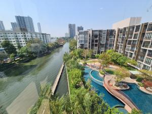 ขายคอนโดอ่อนนุช อุดมสุข : Last call 🔥🔥2br 2br 60sqn (corner unit) canal view @8.99