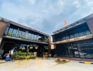 For RentRetailSathorn, Narathiwat : For rent, area, 2 storey shop, Charoen Rat Road, good location Suitable for opening a restaurant