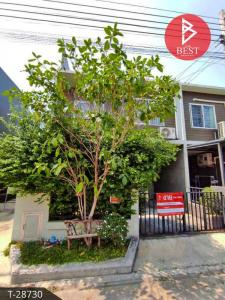 For SaleTownhouseNawamin, Ramindra : Loft style townhome for sale behind the corner of The Colors Ring-Ramintra, Khlong Sam Wa, Bangkok