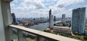 For SaleCondoWongwianyai, Charoennakor : Sell the River Condominium Chao Phraya View – High Floor