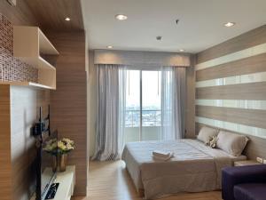 เช่าคอนโดวงเวียนใหญ่ เจริญนคร : For rent The Lighthouse (Studio) 32Sqm. Floor 18th. BTS Gold line ICONSIAM