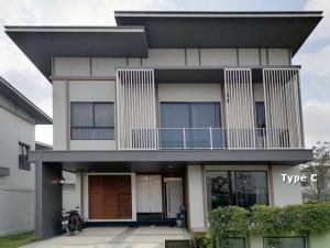 ขายบ้านสำโรง สมุทรปราการ : ขาย บ้านเดี่ยว พานารา เทพารักษ์ PANARA Thepharak บ้านใหม่ ติดถนนเทพารักษ์