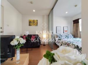 For SaleCondoRamkhamhaeng Nida, Seri Thai : For Sale Hot price 1.05 MB Lumpini Condo Town Nida - Sereethai 2 fully furnished 23 sq.m Bee 0641466445 (S494)