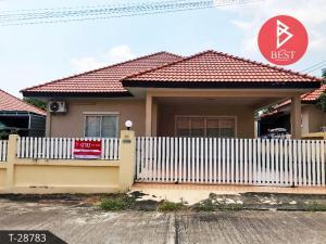 For SaleHousePattaya, Bangsaen, Chonburi : House for sale. Green Field Villa 3 Village, Bang Lamung, Chonburi