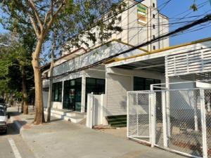 เช่าตึกแถว อาคารพาณิชย์ลาดพร้าว71 โชคชัย4 : ให้เช่าอาคารชั้นเดียว ริมถนนลาดพร้าว ซอยลาดพร้าว พื้นที่ดิน 100 ตารางวา จอดรถได้ 3-4 คัน ทำเลดี เหมาะเป็นสำนักงาน คลินิก ร้านอาหาร ร้านกาแฟ