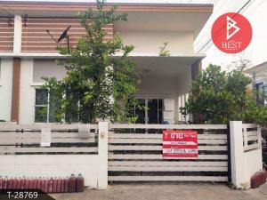 For SaleTownhouseMahachai Samut Sakhon : Townhouse for sale The Miracle Plus Village Economy - Khlong Khru, Samut Sakhon