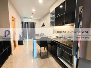 For SaleCondoSukhumvit, Asoke, Thonglor : Condo for sale The Crest Sukhumvit 34 near BTS Thonglor area 35.58 sqm. 1 bedroom 17th floor city view price 8.28 million