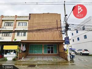 For SaleShophousePattaya, Bangsaen, Chonburi : 3-storey commercial building for sale, Ban Suan, Mueang Chon Buri