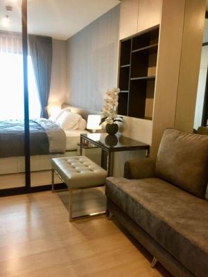 เช่าคอนโดพระราม 9 เพชรบุรีตัดใหม่ : Rental :  Life Asoke ติดMRTเพชรบุรี.  Airportlinkมักกะสัน 1 Bed 1 Bath ,  29 sqm , Floor. 21🔥🔥 Rental : 18,000 THB / Month🔥🔥 วิวสวนมักกะสัน เป็นด้านที่โล่งและวิวสวยมาก📌เตียง 6 ฟุตพร้อมชุดเครื่องนอน ตู้เสื้อผ้าและโต๊ะแต่งตัวพร้อมกระจกขนาดใหญ่ ม่านทีบกั