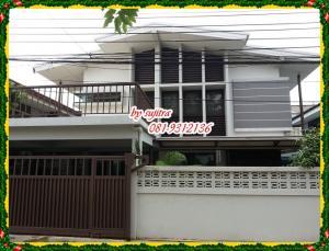 For RentHouseRatchadapisek, Huaikwang, Suttisan : 2 storey detached house for rent, 60 square wa.