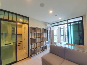 For SaleCondoChengwatana, Muangthong : No need to pay for up to 24 months. * Condo The Cube North Chaengwattana 12 ready to move in, fully furnished